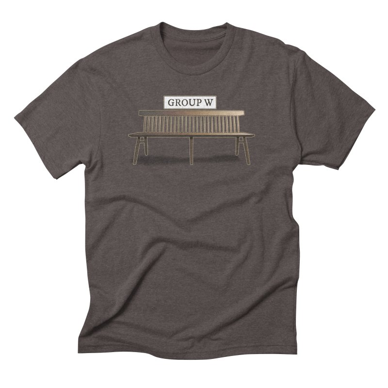 Group W Bench Men's Triblend T-Shirt by 21 Squirrels Brewery Shop