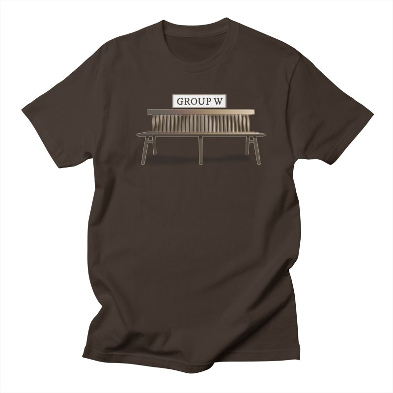 Group W Bench Men's Regular T-Shirt by 21 Squirrels Brewery Shop