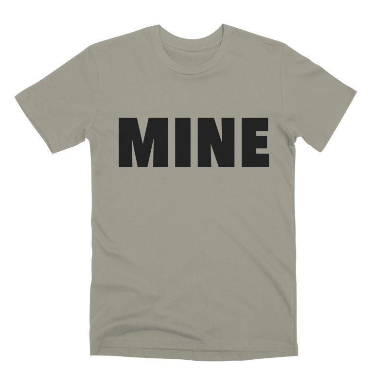 MINE Men's Premium T-Shirt by 21 Squirrels Brewery Shop