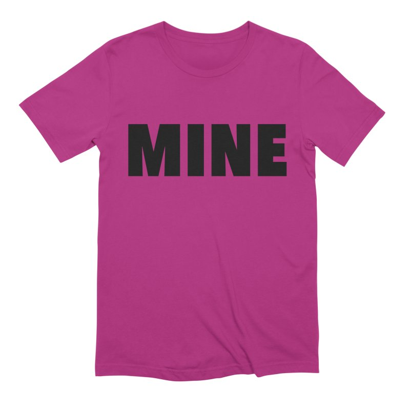 MINE Men's Extra Soft T-Shirt by 21 Squirrels Brewery Shop