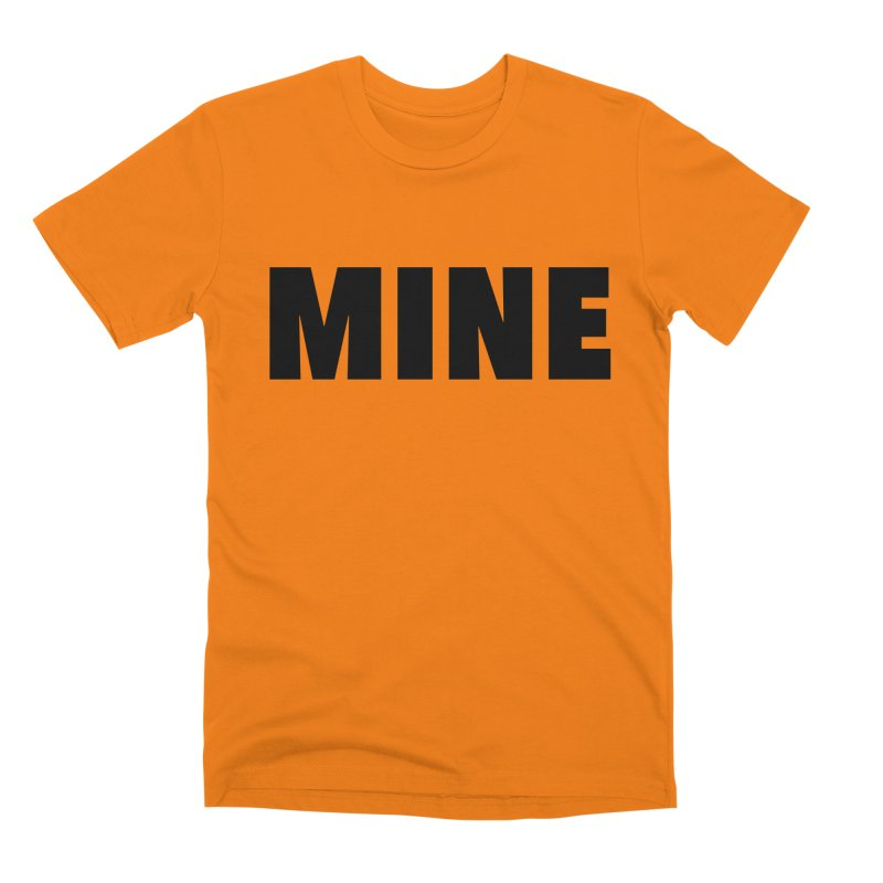 MINE Men's T-Shirt by 21 Squirrels Brewery Shop