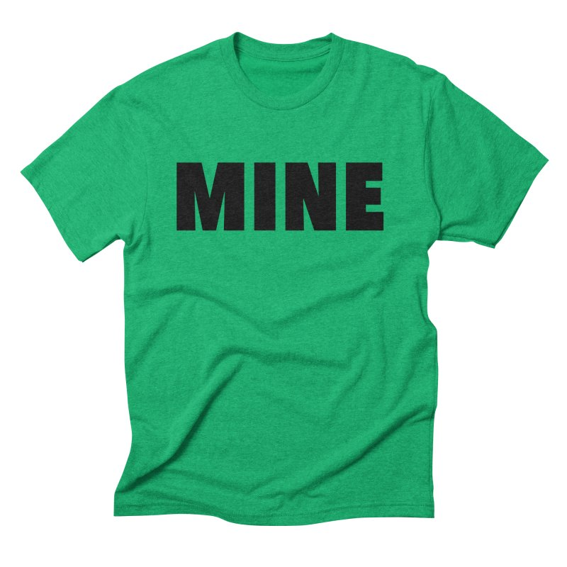 MINE Men's Triblend T-Shirt by 21 Squirrels Brewery Shop