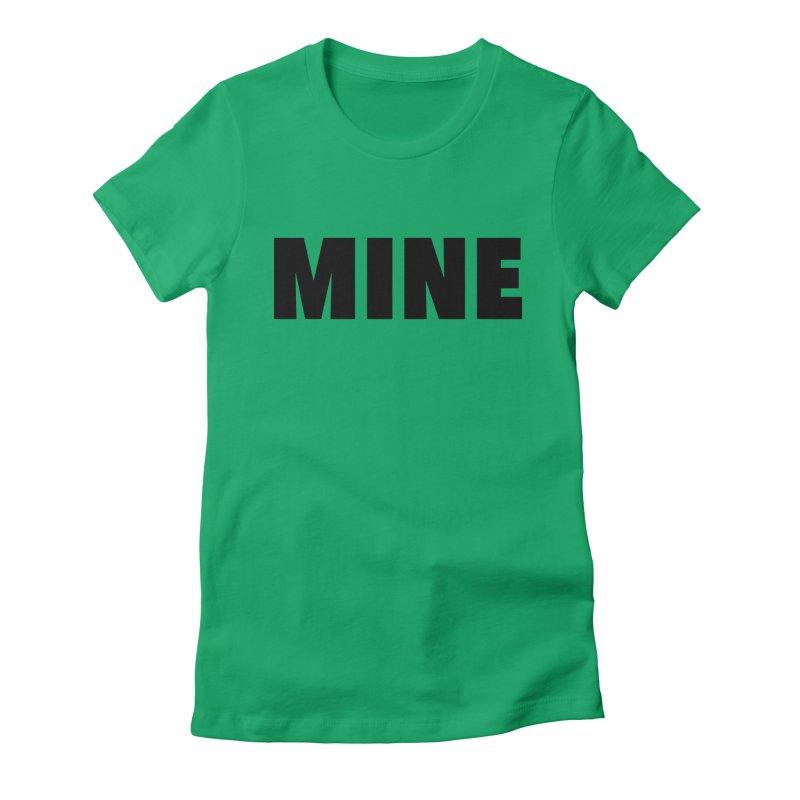 MINE Women's T-Shirt by 21 Squirrels Brewery Shop