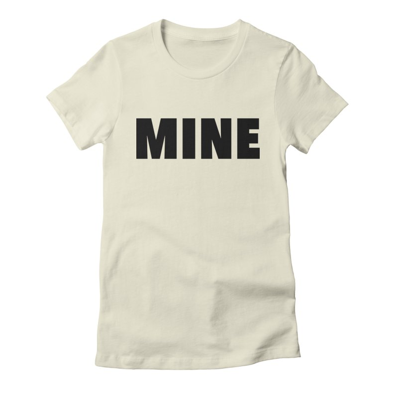 MINE Women's Fitted T-Shirt by 21 Squirrels Brewery Shop
