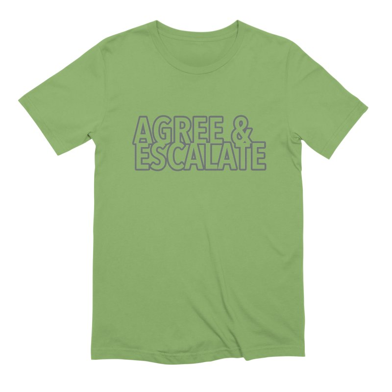Agree & Escalate Men's Extra Soft T-Shirt by 21 Squirrels Brewery Shop