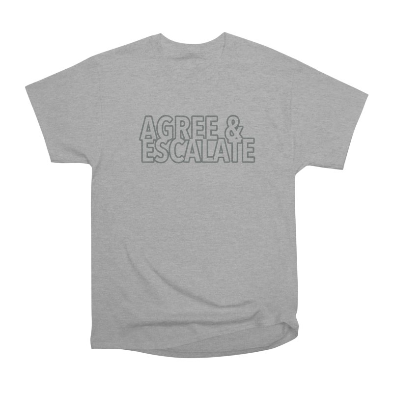 Agree & Escalate Men's Heavyweight T-Shirt by 21 Squirrels Brewery Shop