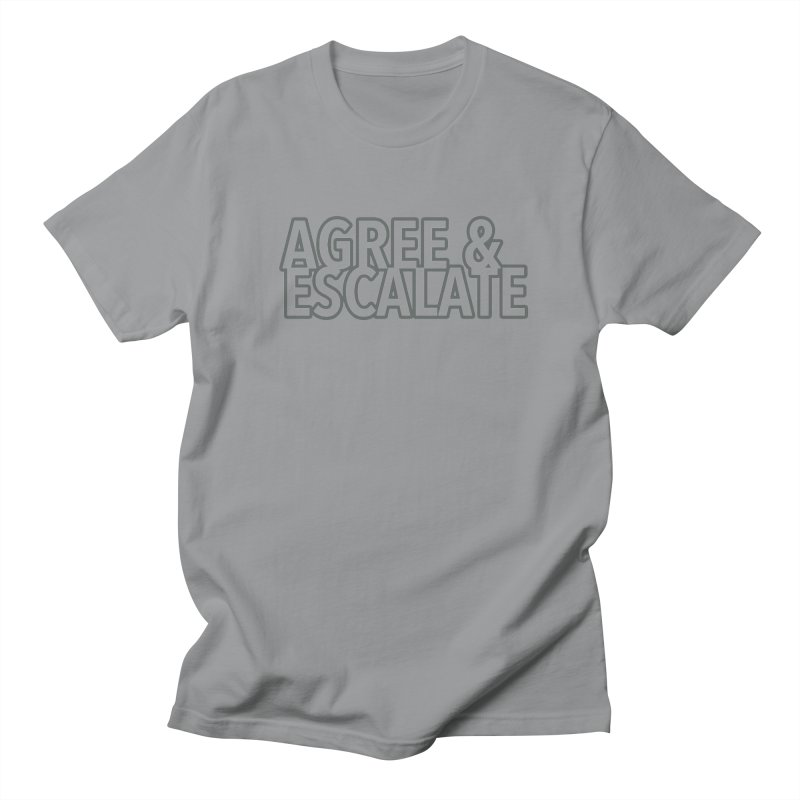 Agree & Escalate Men's Regular T-Shirt by 21 Squirrels Brewery Shop