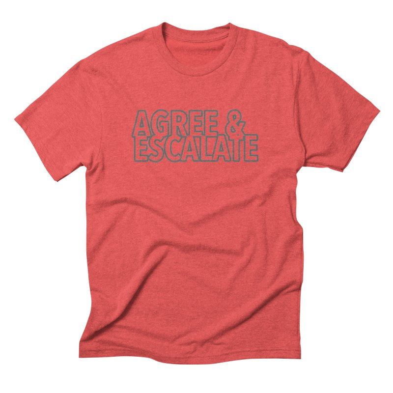 Agree & Escalate Men's Triblend T-Shirt by 21 Squirrels Brewery Shop