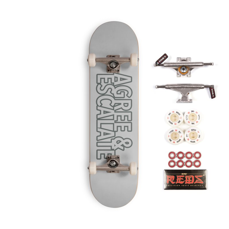 Agree & Escalate Accessories Complete - Pro Skateboard by 21 Squirrels Brewery Shop