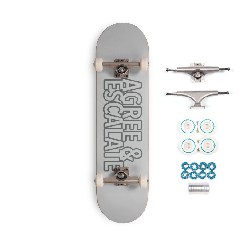 Agree & Escalate Accessories Complete - Basic Skateboard by 21 Squirrels Brewery Shop
