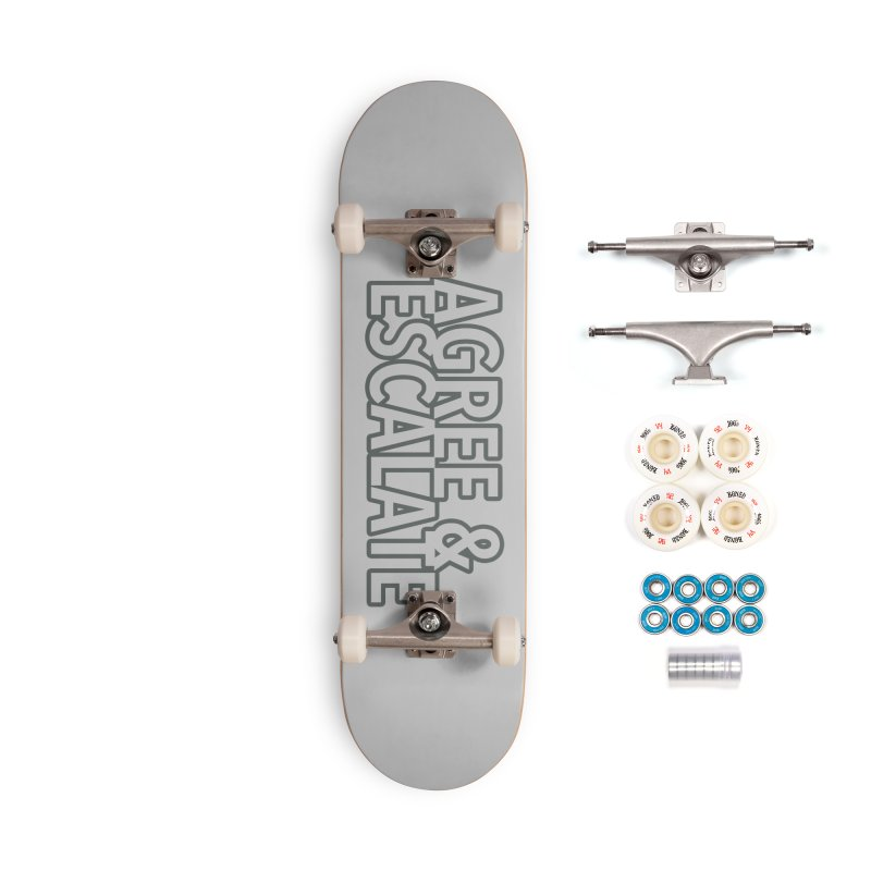 Agree & Escalate Accessories Complete - Premium Skateboard by 21 Squirrels Brewery Shop