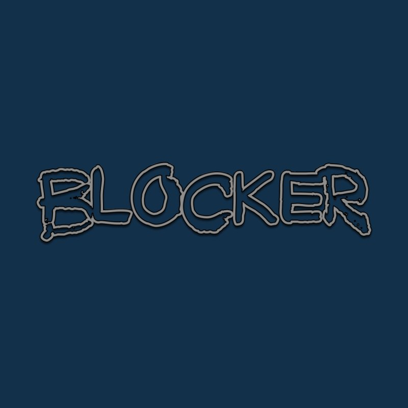 Blocker Home Mounted Aluminum Print by 21 Squirrels Brewery Shop