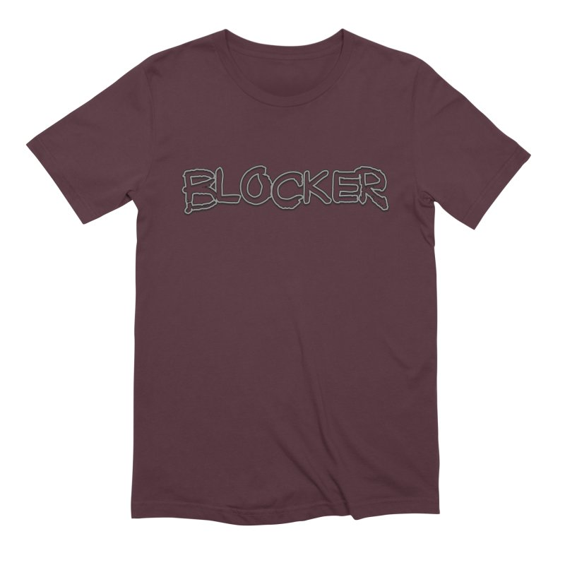 Blocker Men's Extra Soft T-Shirt by 21 Squirrels Brewery Shop