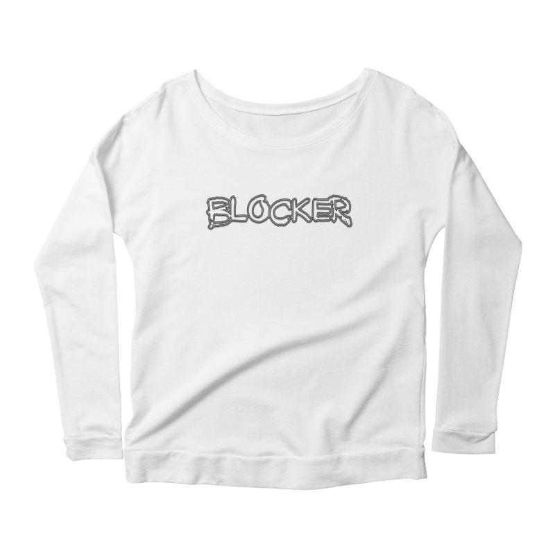Blocker Women's Scoop Neck Longsleeve T-Shirt by 21 Squirrels Brewery Shop