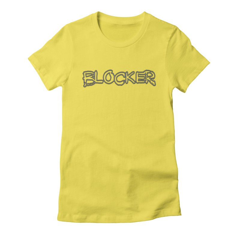 Blocker Women's Fitted T-Shirt by 21 Squirrels Brewery Shop