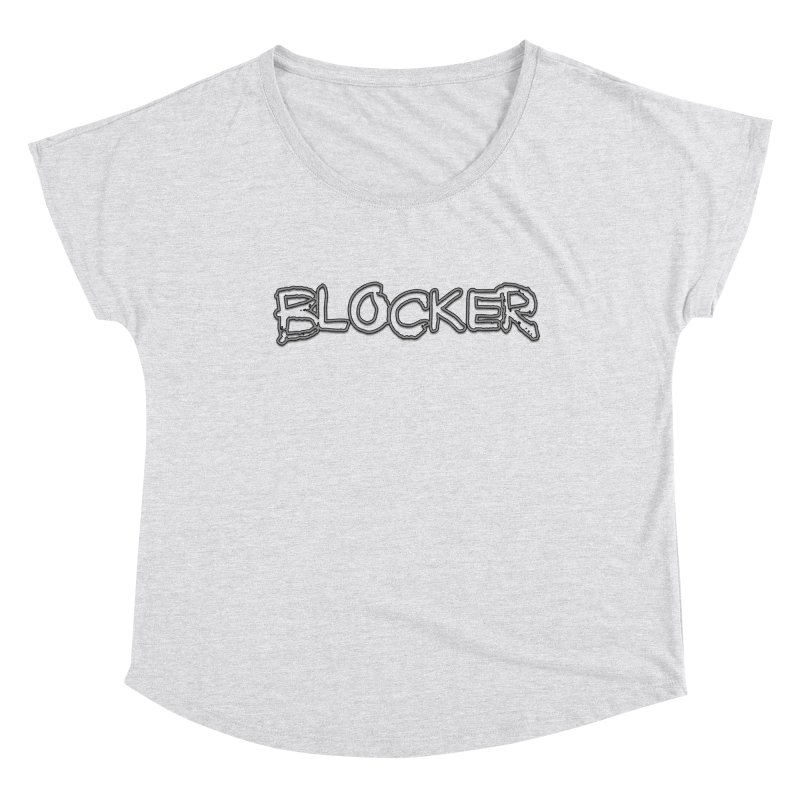 Blocker Women's Scoop Neck by 21 Squirrels Brewery Shop