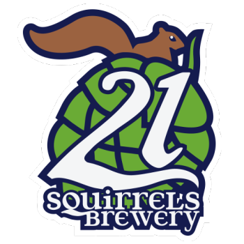 21 Squirrels Brewery Shop Logo