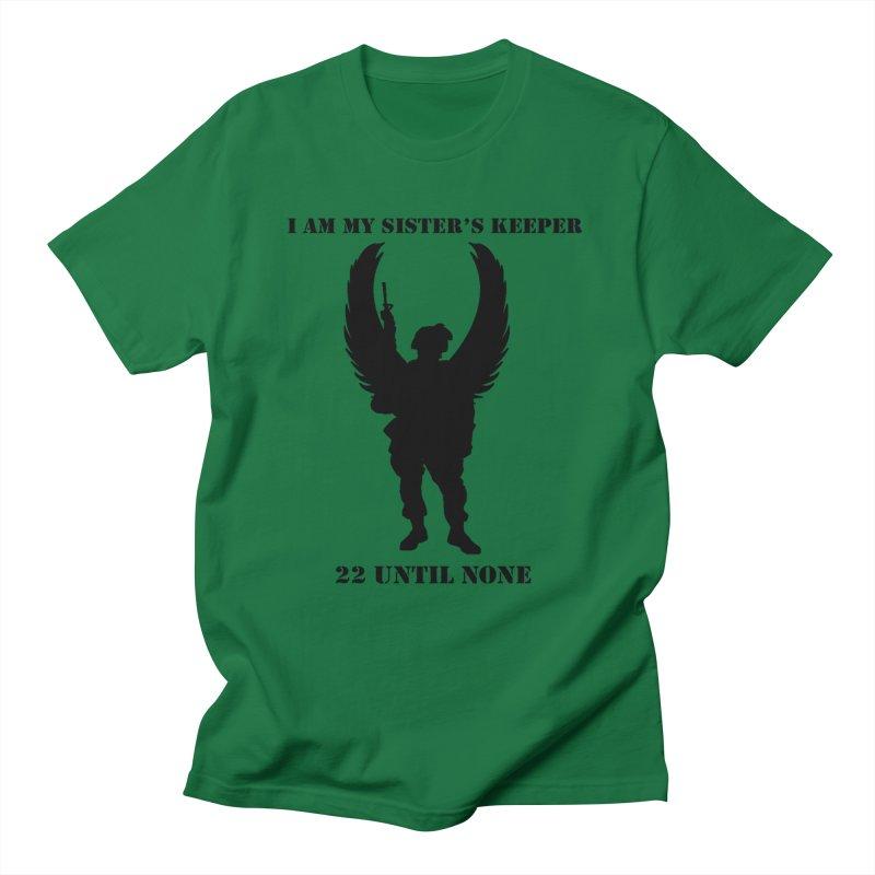 Sister's Keeper Logo Black Women's T-Shirt by 22UntilNone's Shop