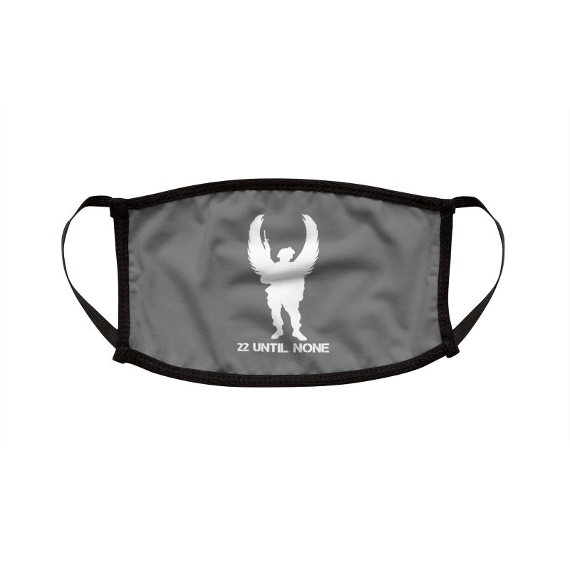 22 Until None Logo White Accessories Face Mask by 22UntilNone's Shop