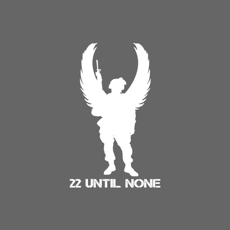 22 Until None Logo White Kids T-Shirt by 22UntilNone's Shop