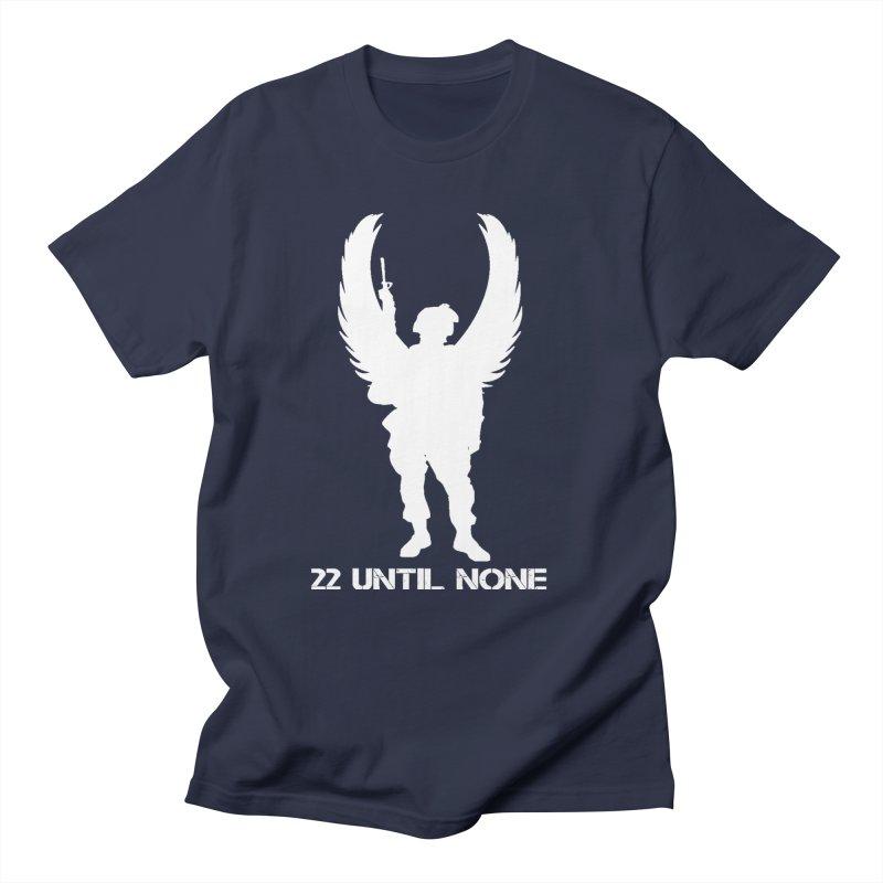 22 Until None Logo White Men's T-Shirt by 22UntilNone's Shop
