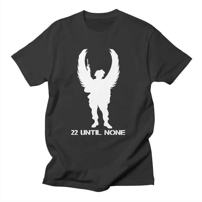 22 Until None Logo White Men's T-Shirt by 22UntilNone's Shop