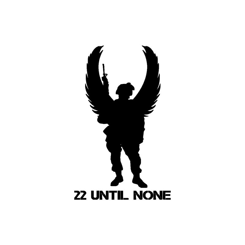 22 Until None Logo Black Men's Longsleeve T-Shirt by 22UntilNone's Shop