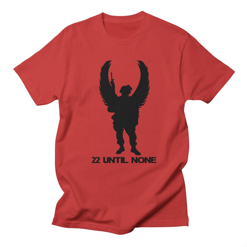 22 Until None Logo Black Men's T-Shirt by 22UntilNone's Shop