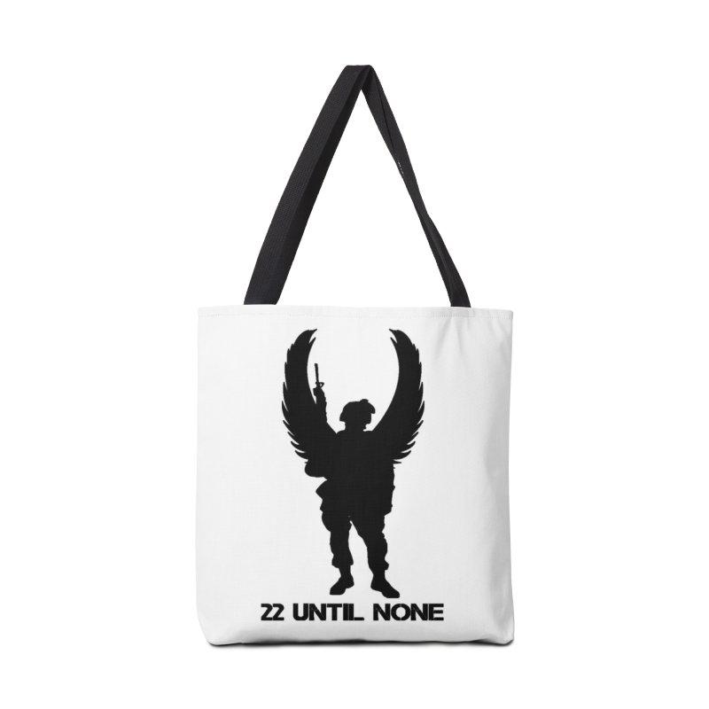 22 Until None Logo Black Accessories Bag by 22UntilNone's Shop