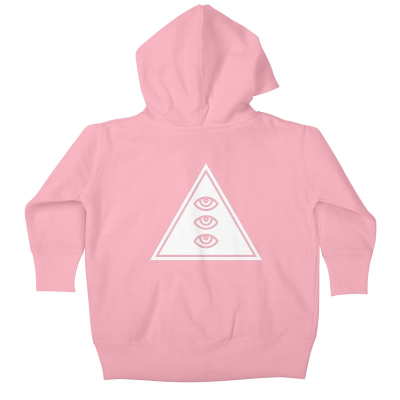 Divine Eyes Kids Baby Zip-Up Hoody by 2556 - Works by Jeremy Burns