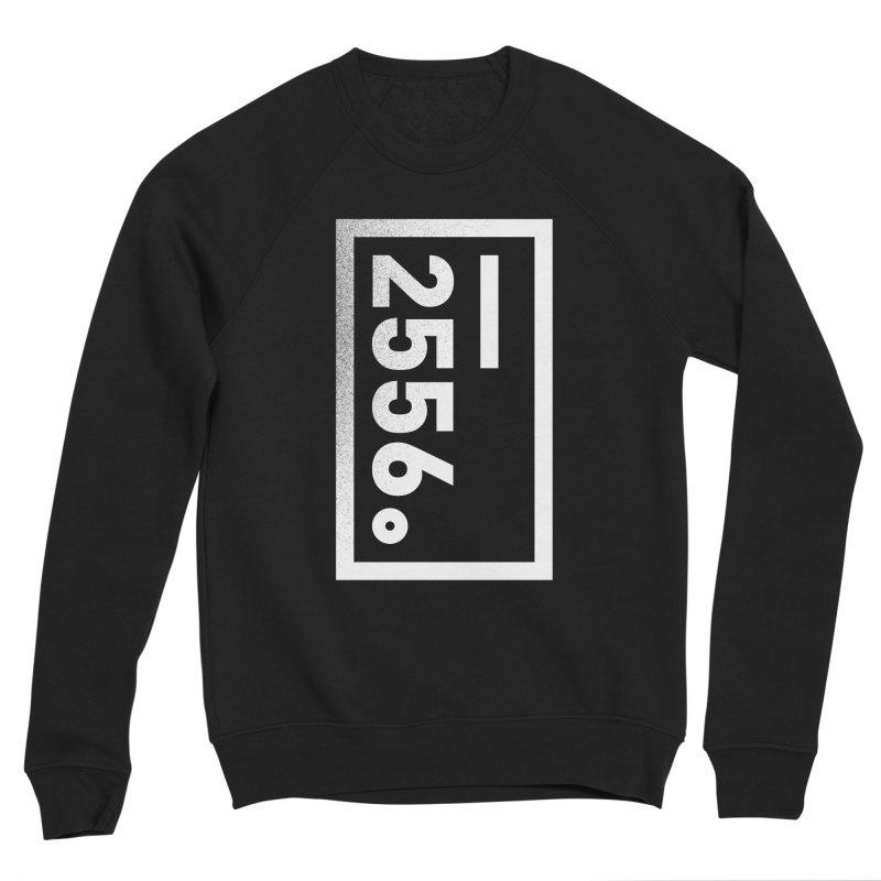 2556 Distressed Logo Men's Sweatshirt by 2556 - Works by Jeremy Burns