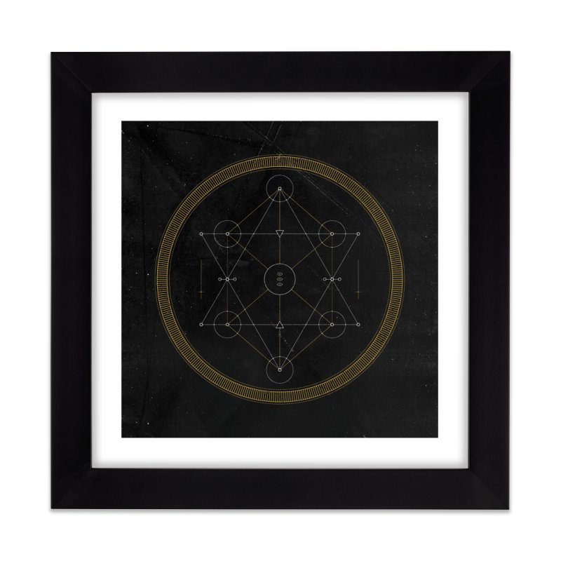 The Eyes of the Universe Home Framed Fine Art Print by 2556 - Works by Jeremy Burns