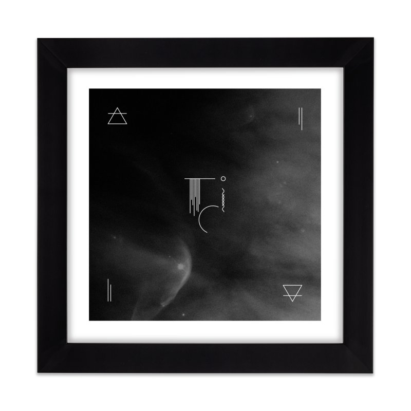 Into the Void Home Framed Fine Art Print by 2556 - Works by Jeremy Burns