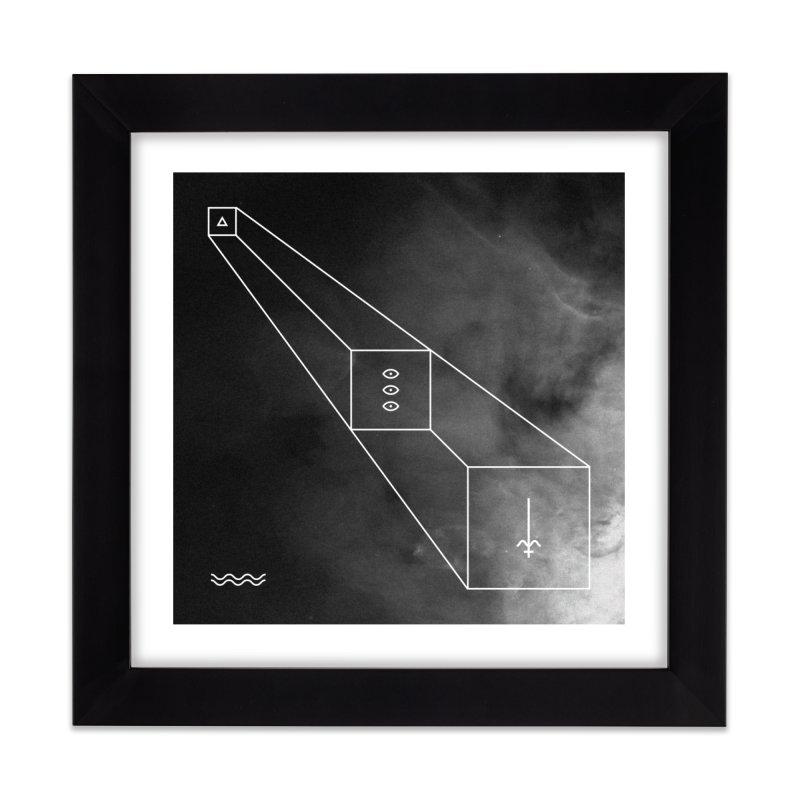 The Light Home Framed Fine Art Print by 2556 - Works by Jeremy Burns