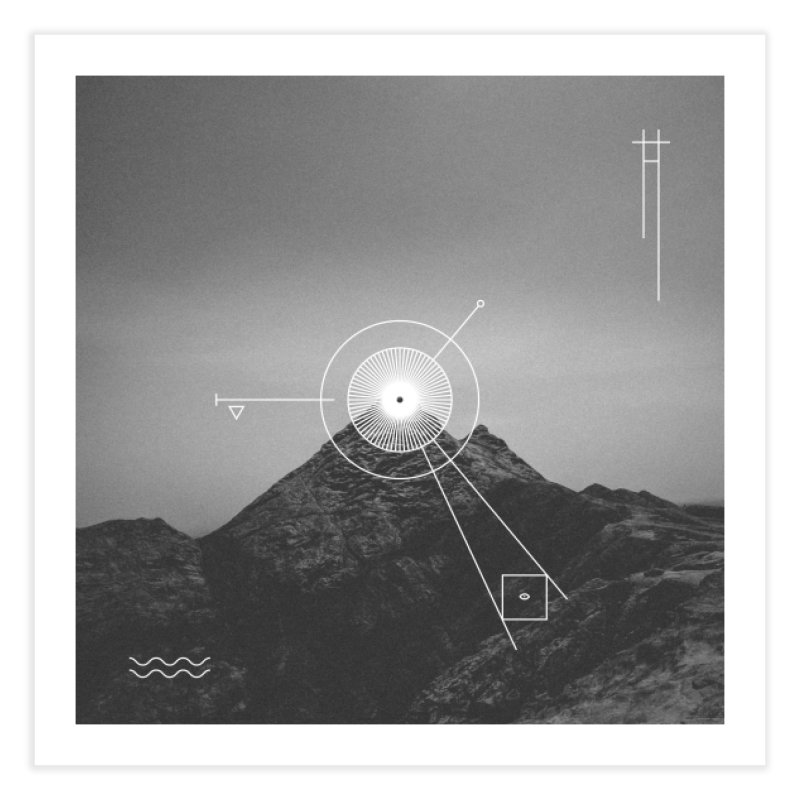 The Summit Home Fine Art Print by 2556 - Works by Jeremy Burns