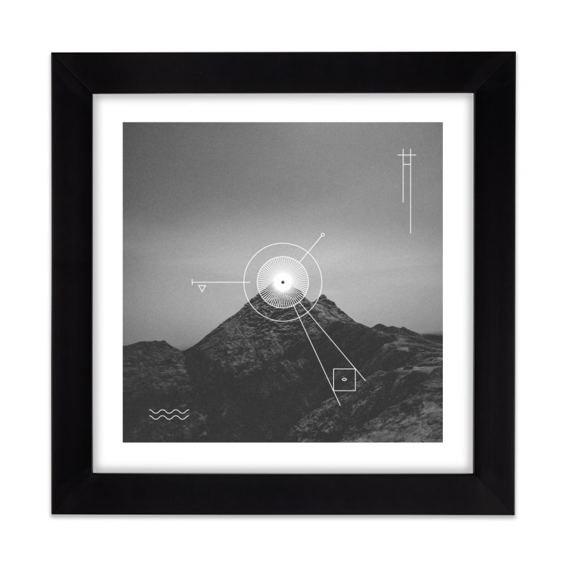 The Summit Home Framed Fine Art Print by 2556 - Works by Jeremy Burns