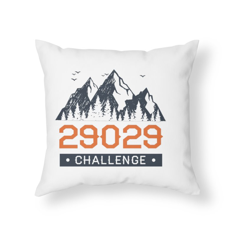 29029 Challenge Home Throw Pillow by Aaron Travels World Official Store