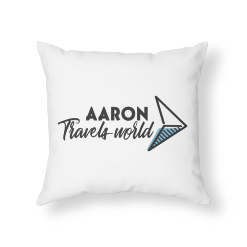 Aaron Travels World Home Throw Pillow by Aaron Travels World Official Store