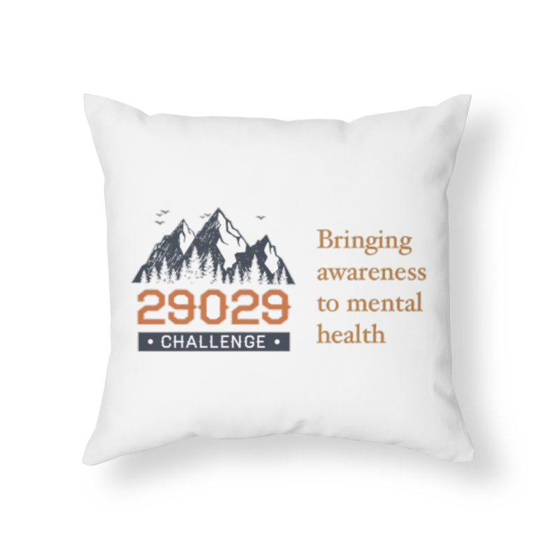 Bringing Awareness Home Throw Pillow by Aaron Travels World Official Store