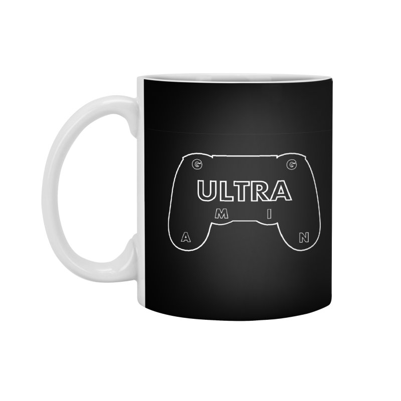 ULTRA GAMING Accessories Mug by 2Dyzain's Artist Shop