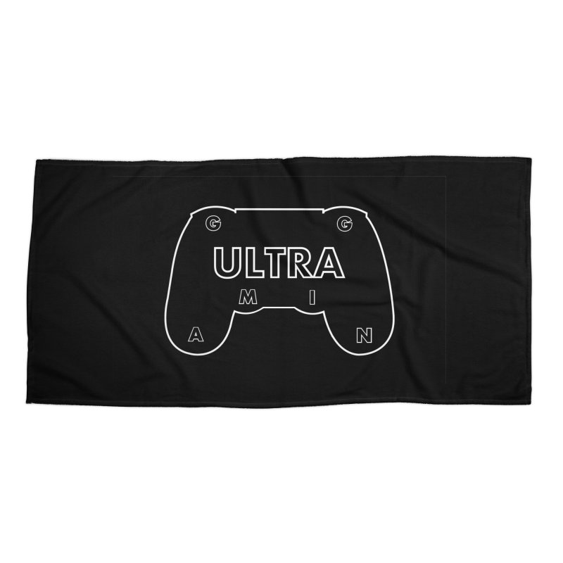 ULTRA GAMING Accessories Beach Towel by 2Dyzain's Artist Shop