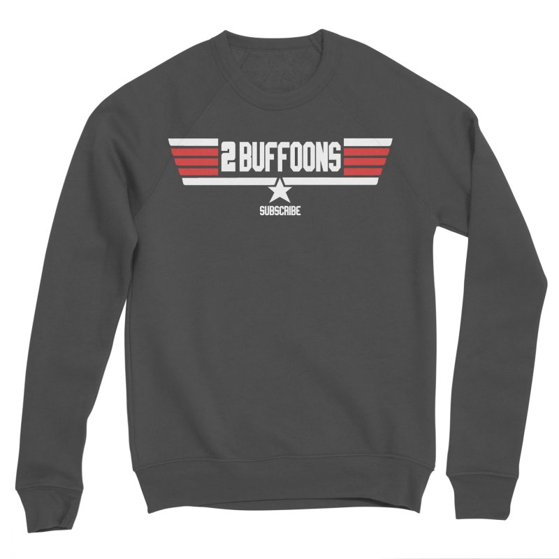 Top Buffoons Maverick Gun Women's Sponge Fleece Sweatshirt by 2buffoons's Artist Shop