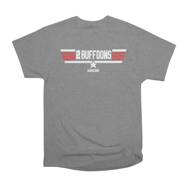 Top Buffoons Maverick Gun Women's Heavyweight Unisex T-Shirt by 2buffoons's Artist Shop
