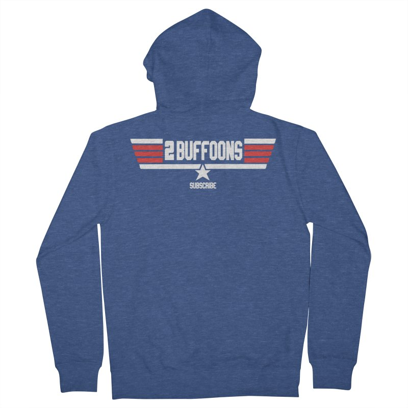 Top Buffoons Maverick Gun Women's French Terry Zip-Up Hoody by 2buffoons's Artist Shop