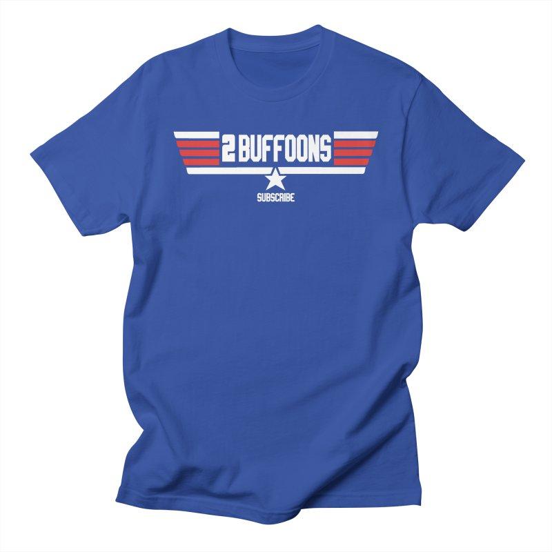 Top Buffoons Maverick Gun Men's Regular T-Shirt by 2buffoons's Artist Shop