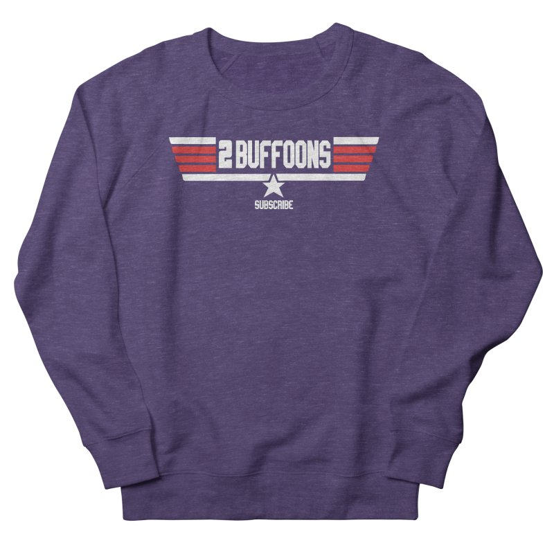 Top Buffoons Maverick Gun Men's French Terry Sweatshirt by 2buffoons's Artist Shop