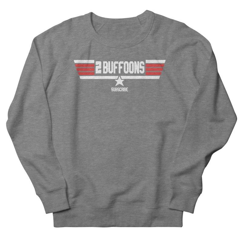 Top Buffoons Maverick Gun Men's French Terry Sweatshirt by 2buffoons's Artist Shop
