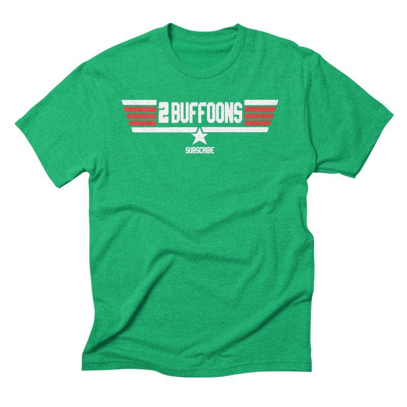 Top Buffoons Maverick Gun Men's Triblend T-Shirt by 2buffoons's Artist Shop