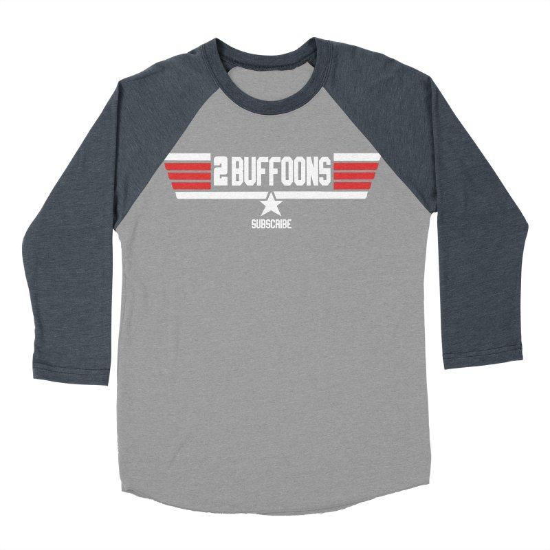 Top Buffoons Maverick Gun Women's Baseball Triblend Longsleeve T-Shirt by 2buffoons's Artist Shop