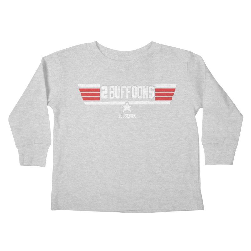 Top Buffoons Maverick Gun Kids Toddler Longsleeve T-Shirt by 2buffoons's Artist Shop